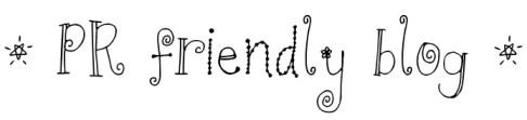 PR friendly