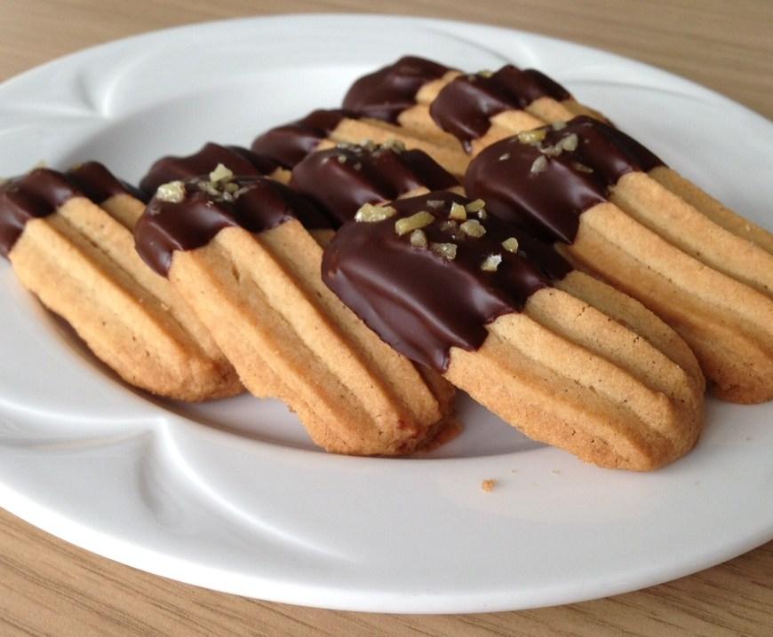 Viennese biscuits nom nom nom