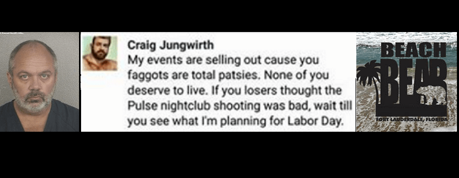 Craig Jungwirth: The Man Behind the Threats & Harassment