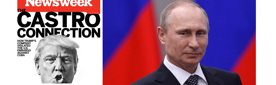 Putin and Russia suspected in DDOS attack on Newsweek for Trump Cuba embargo story