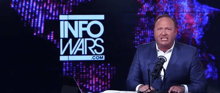 Alex Jones Backpedaling After Pizzagate Armed Attack