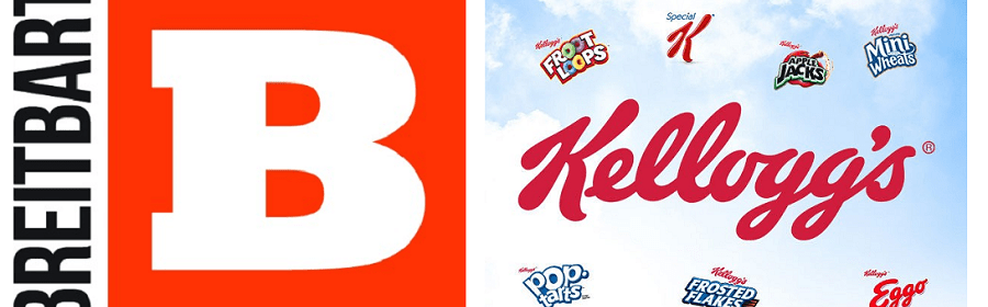 Breitbart launches an attack on Kelloggs for stopping advertising.