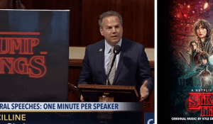 David Cicilline spoke of Trump Things on the House floor referencing the monsters of Stranger Things and the Upside down