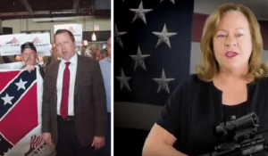 Corey Stewart & Sheri Few promote white supremacy and Confederacy support