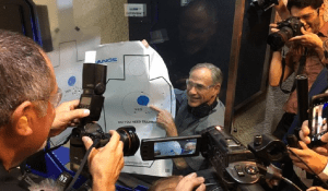 Greg Abbott jokes about shooting reporters
