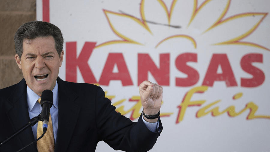 Brownback says tax hike bad long-term for Kansas
