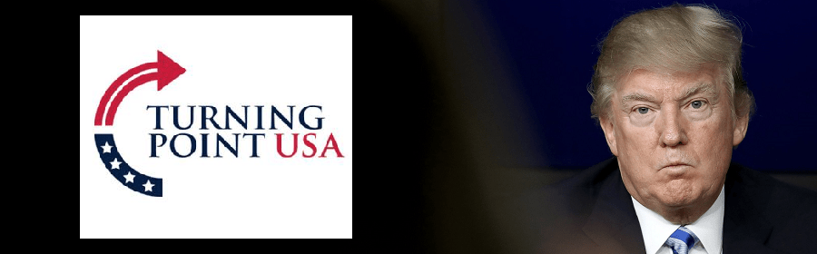Donald Trump praised Turning Point USA a day after a racism exposé on the org