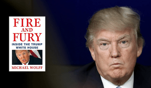 Trump raises First Amendment issues by threatening legal action against the publisher of Fire and Fury