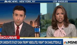 Stacey Dash Defends Neo-Nazis in First Campaign Interview
