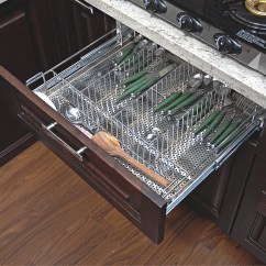 Kitchen Basket Storage Bridge Faucet Stainless Steel Ss
