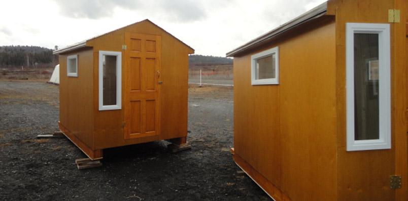 Peacock Woodcraft  Ice Hut 2