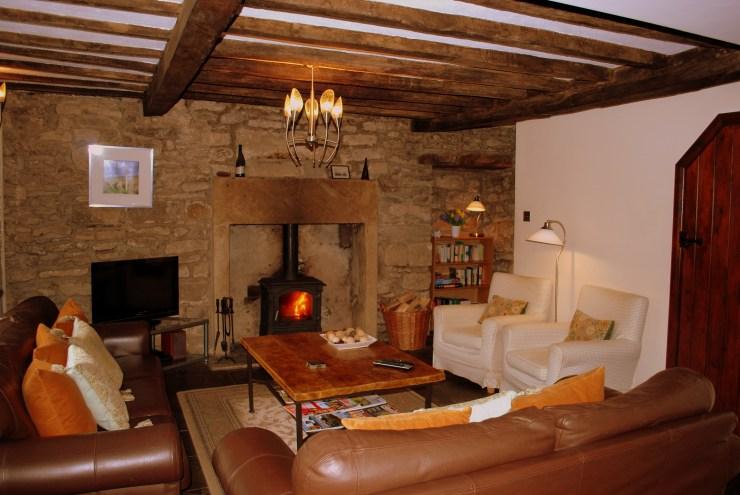 Church Corner Cottage - Sitting Room