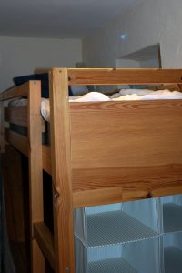 Hillocks Cottage - Loft bed