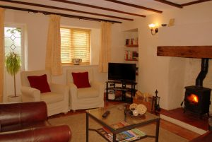 Hillocks Cottage - Sitting room