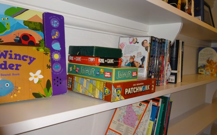 Cherry Cottage, Selection of games, DVD's & Maps