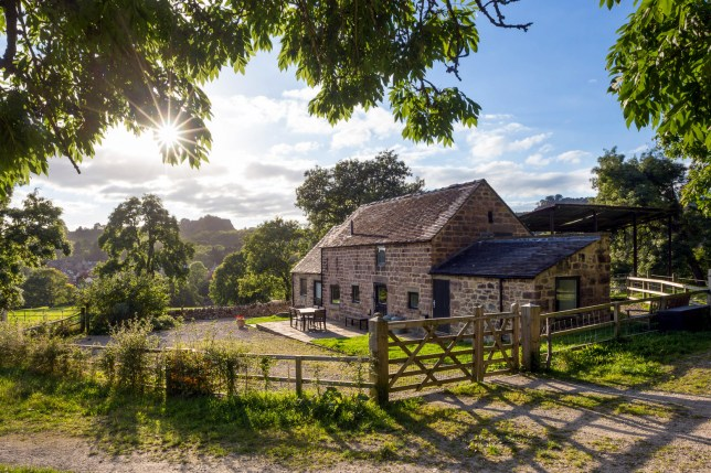 George Mine Barn, Bolehill, Nr Wirksworth