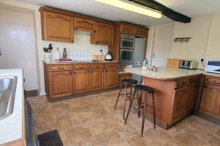 Cornerstones Cottage Tideswell, Kitchen