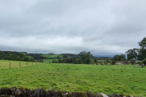Carpenters Cottage - View across the valley