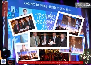 Signature accord de partenariat CDAF – THESAME-PEAK