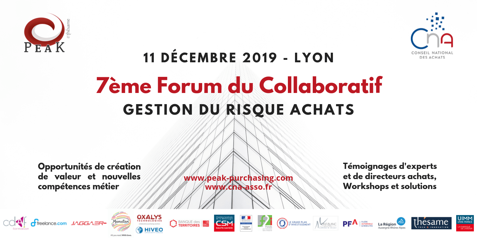Participez au Forum du Collaboratif 2019
