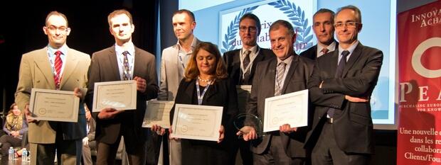 Cérémonie du second Prix National du Collaboratif