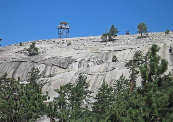 Bald Mountain Sierra forest california