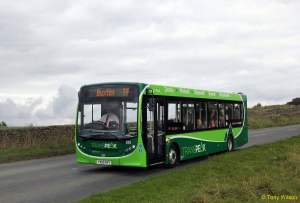 buses in the peak district