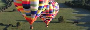 peak district hot air balloon
