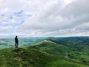 Peak District walking hill