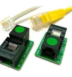 rja11 pair of rj11 rj45 adapters [ 960 x 860 Pixel ]
