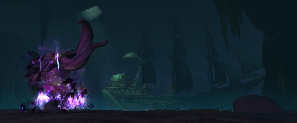 Vol'zith the Whisperer's boss model in Shrine of the Storm