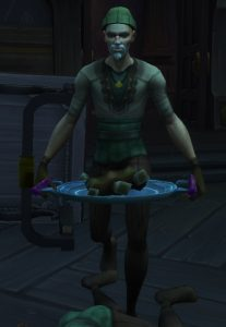 One of Raal the Gluttonous' Wasting Servants in Waycrest Manor