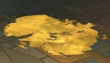 A puddle of Molten Gold created by the Golden Serpent
