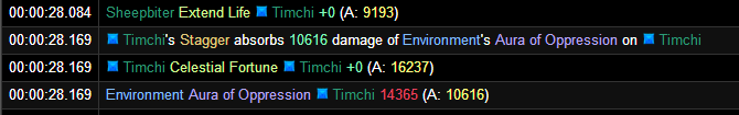 The Celestial Fortune bug manifesting in Legion Pre-Patch