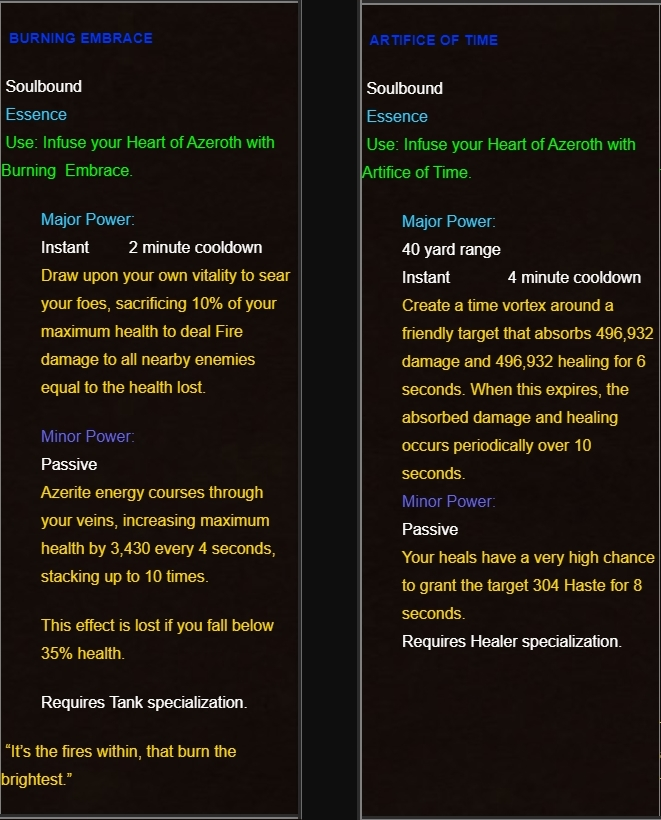 8 2 Preview-Thoughts on Azerite and Tank Traits – Peak of
