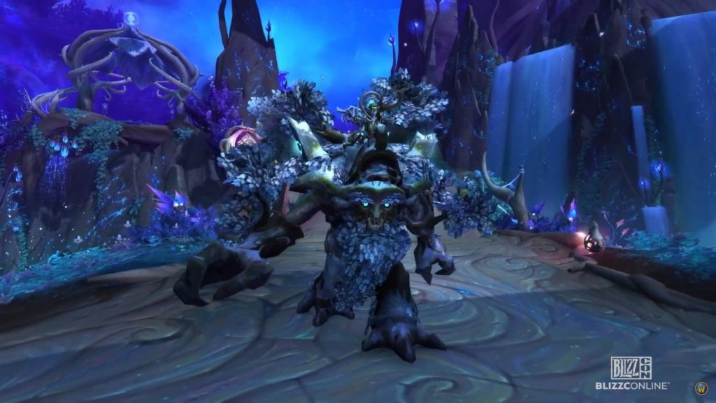 The Wandering Ancient mount of Patch 9.0.5