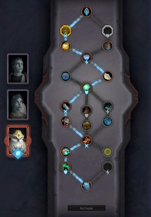 Shadowlands Patch 9.1 Soulbind Tree