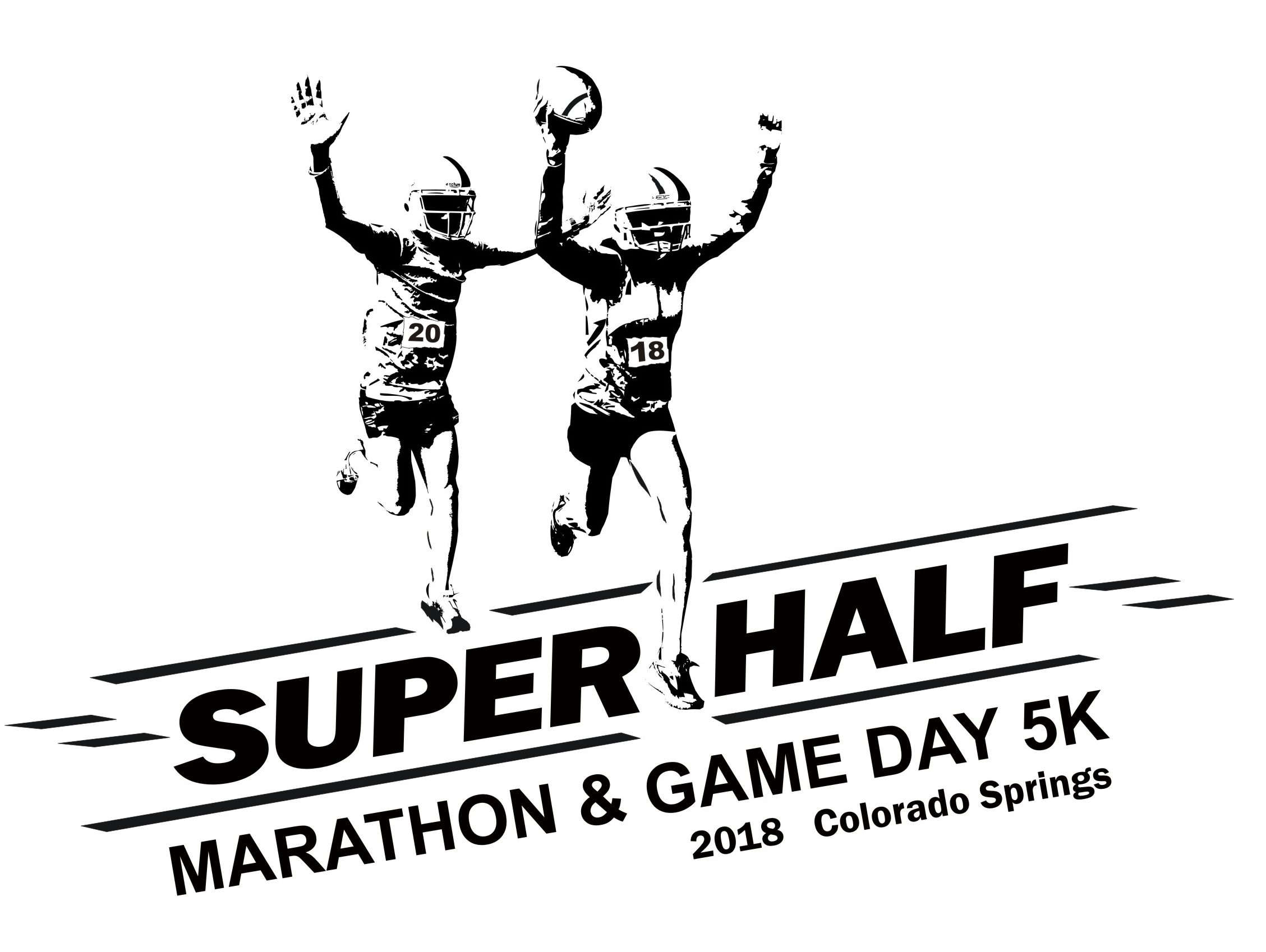 The Super Half Marathon Amp Game Day 5k Presented By Pikes