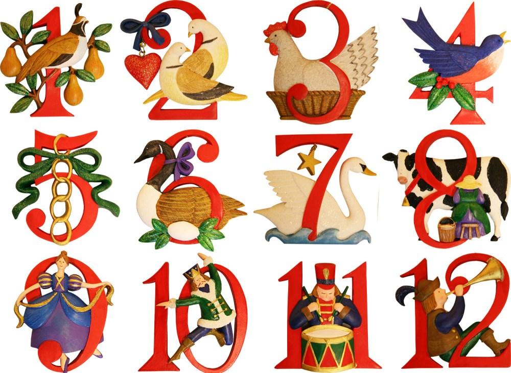medium resolution of the twelve days of christmas