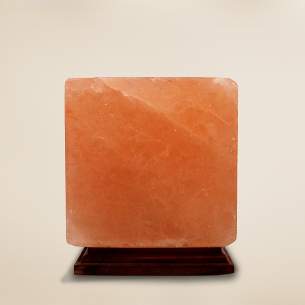 Himalayan Salt lamp Cube Shape