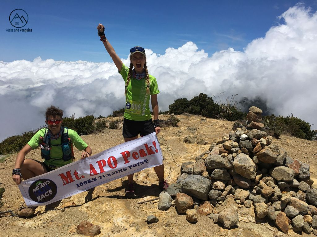 The amazing Mt  Apo 100k 2019 - Peaks and Penguins