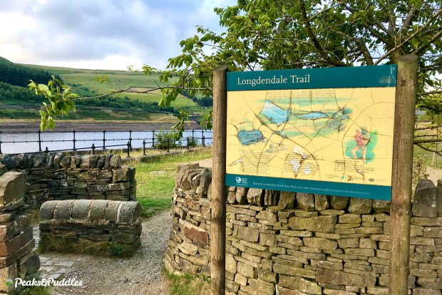 The Longdendale Trail along the old Woodhead railway line