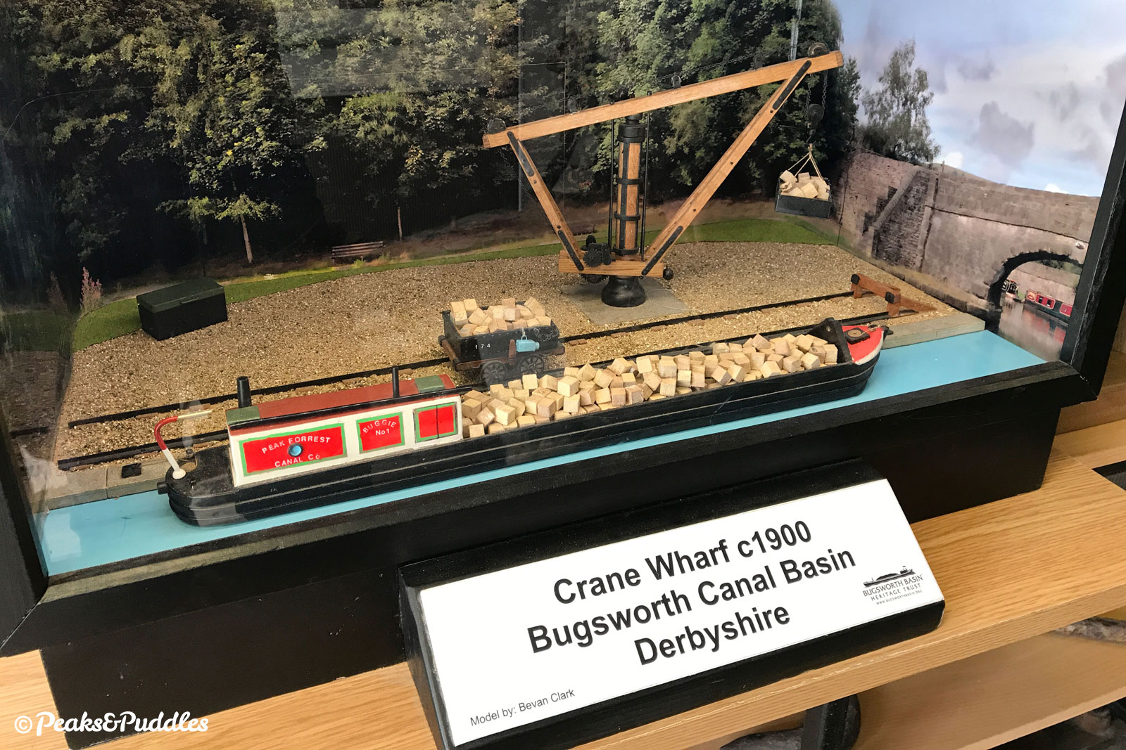 The exhibition housed in a temporary container at Bugsworth Basin is well worth a look when open.