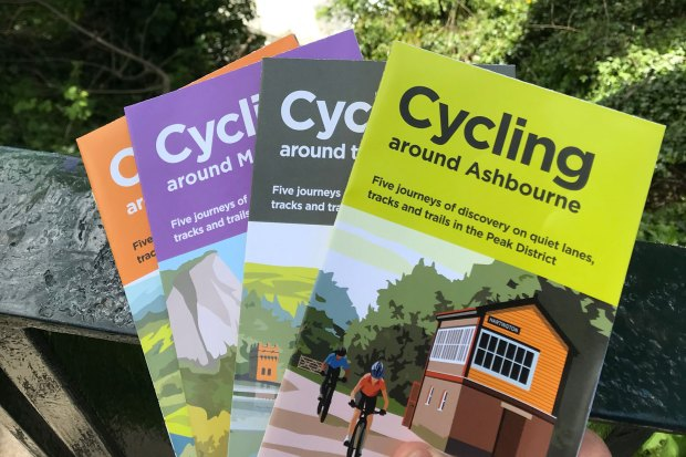 The updated Cycle Derbyshire map follows a set of four Peak District cycling guides which also oddly omitted the Goyt Valley and Buxton area of the High Peak.