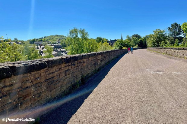 Bollington Viaduct is both a highlight of the ride — and a good place to turn back.