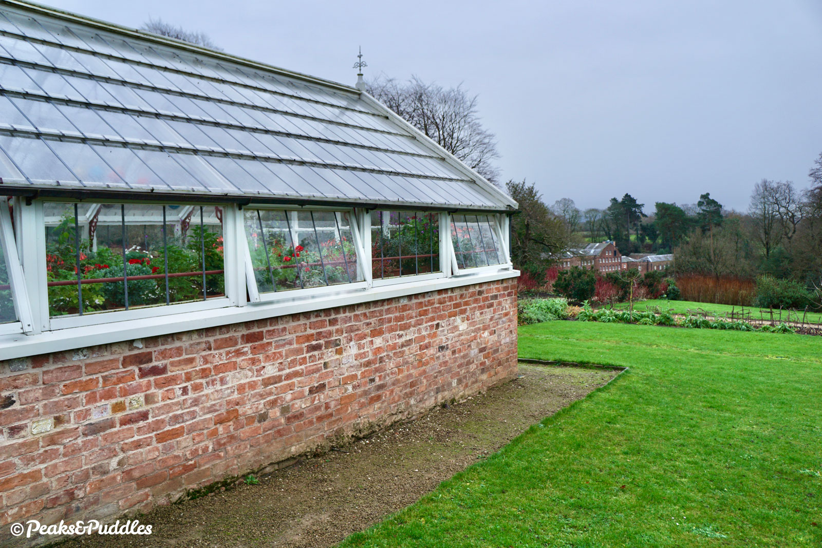 The Kitchen Garden, beautiful restored glasshouses and modern cafe at Quarry Bank are well worth a diversion too. (Entry fee required)