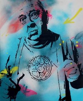 RKK est une peinture streetart par peam's streetartiste et artiste urbain