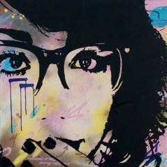 excusez moi est une peinture streetart par peam's streetartiste et artiste urbain popart