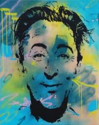 le malicieux est une peinture comptemporaine streetart par peam's streetartiste et artiste urbain pop art