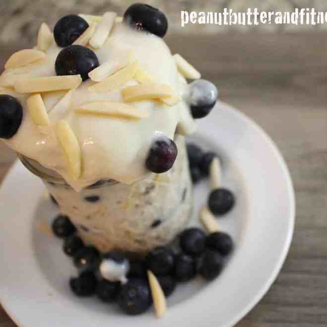 Blueberry Almond Overnight Oats (Quitting Cereal – Volume 1)